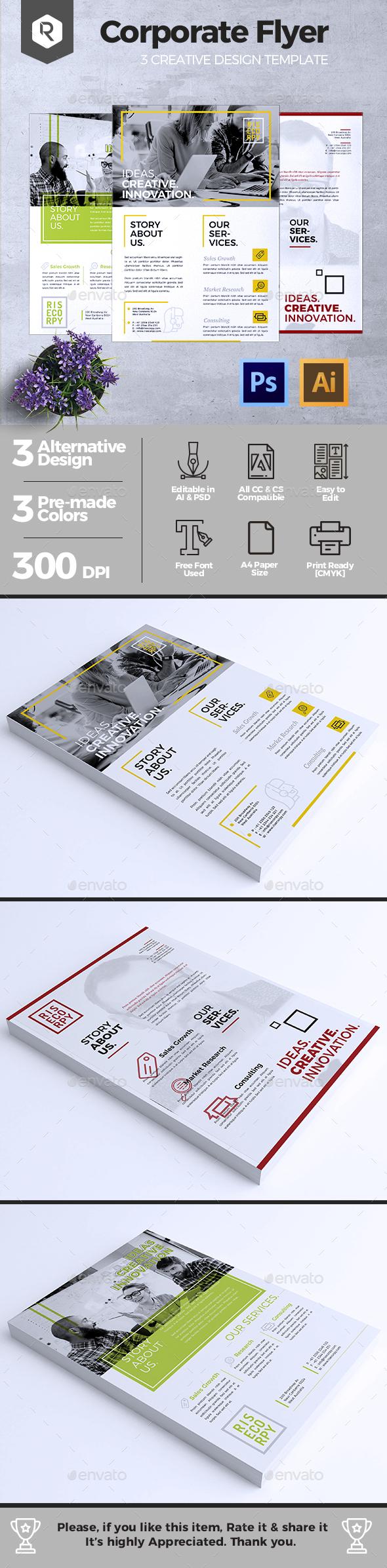 Creative Corporate Flyer Vol. 04 - Corporate Flyers