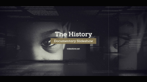 The History – Documentary Slideshow (Special Events) After