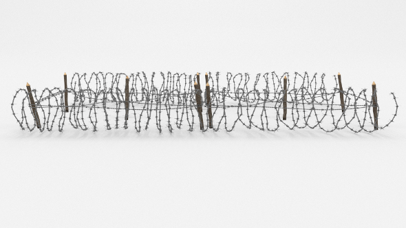 Barb Wire Obstacle 21