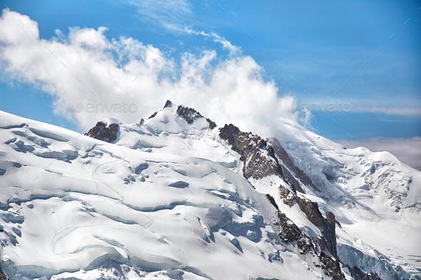 Chamonix Mont Blanc, France - Stock Photo - Images
