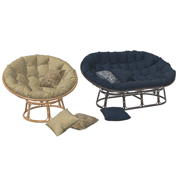 Papasan and Mamasan Chair
