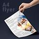Travel Agency A4 Flyer in 3 Layouts