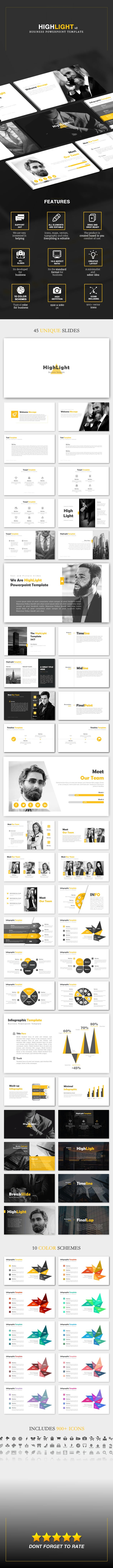 Highlight v2 - Business Powerpoint Template - Business PowerPoint Templates