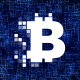 Bitcoin Logo And Background