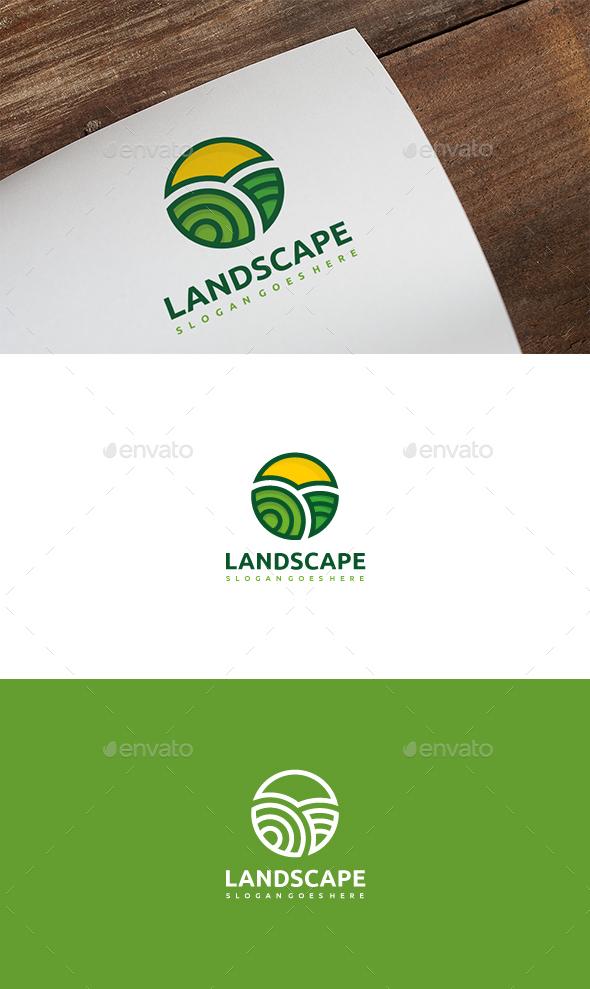 Landscape Logo - Nature Logo Templates