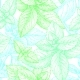 Mint Seamless Pattern.