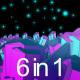 Fantasy Space (6in1) VJ - VideoHive Item for Sale