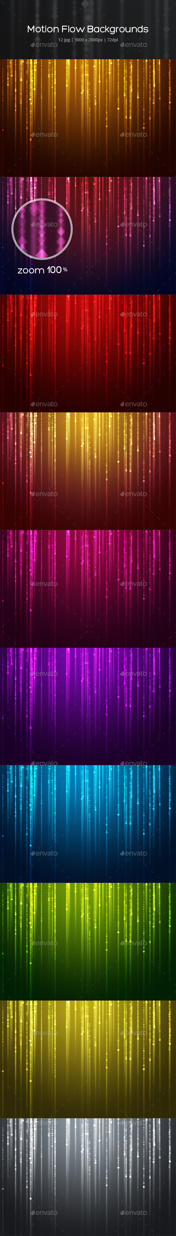 GraphicRiver Motion Flow Backgrounds 20477731