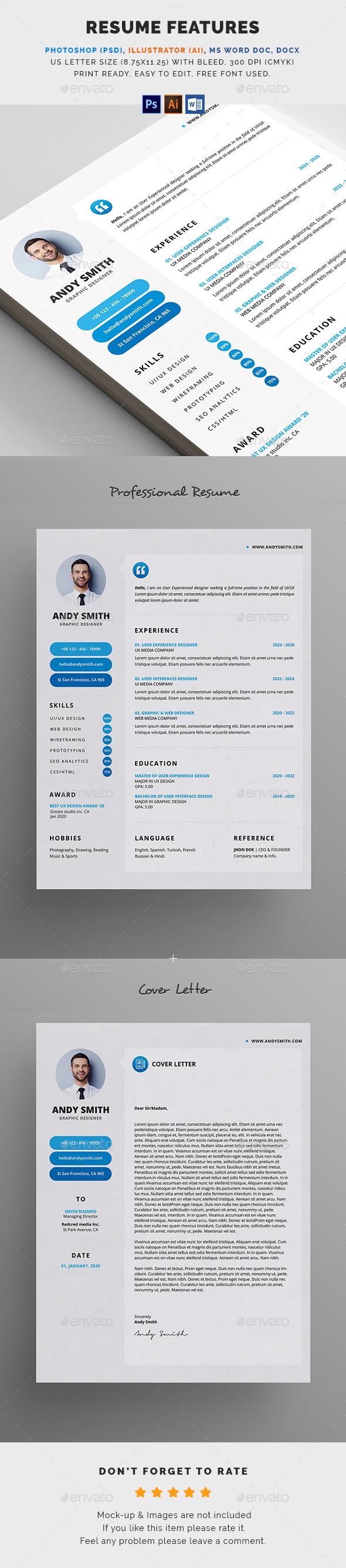 GraphicRiver Resume 20478027
