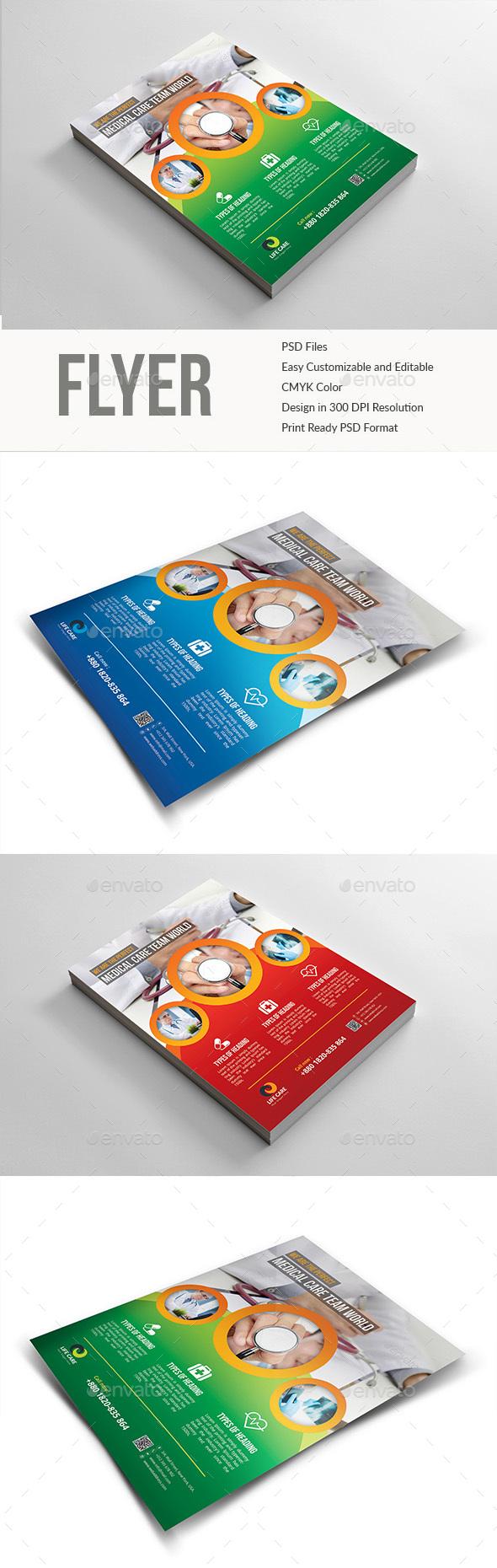 GraphicRiver Medical Doctor Dental Flyer 20478059