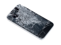 Mobile phone with broken screen - PhotoDune Item for Sale