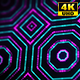 4K Sci-fi Kaleidoscope Background Digital Green and Pink 5