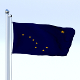 Animated Alaska Flag - 3DOcean Item for Sale