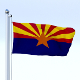 Animated Arizona Flag