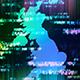 Digital United Kingdom Map
