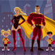 Superhero Family 2 - GraphicRiver Item for Sale