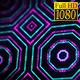 FullHD Sci-fi Kaleidoscope Background Digital Green and Pink 5