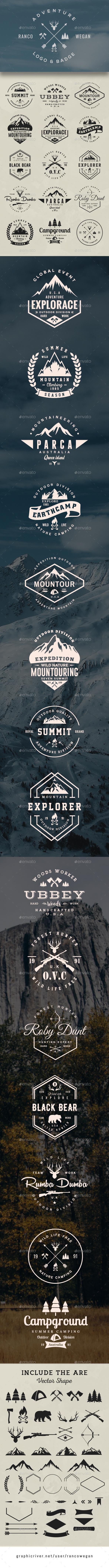 Adventure Logo & Badge