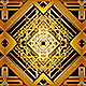 Art Deco Kaleidoscope Loop Background
