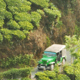 Old Car Movіng Through The Tea Plantation - VideoHive Item for Sale