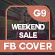 Weekend Sale Facebook Cover - GraphicRiver Item for Sale