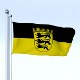 Animated Baden-Wurttemberg German State Flag - 3DOcean Item for Sale