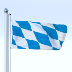 Animated Bavaria German State Flag - 3DOcean Item for Sale