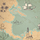 Vintage Vector Marine Map - GraphicRiver Item for Sale