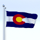 Animated Colorado Flag - 3DOcean Item for Sale