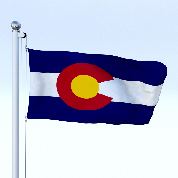 Animated Colorado Flag