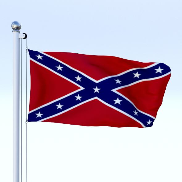 Animated Confederate Flag