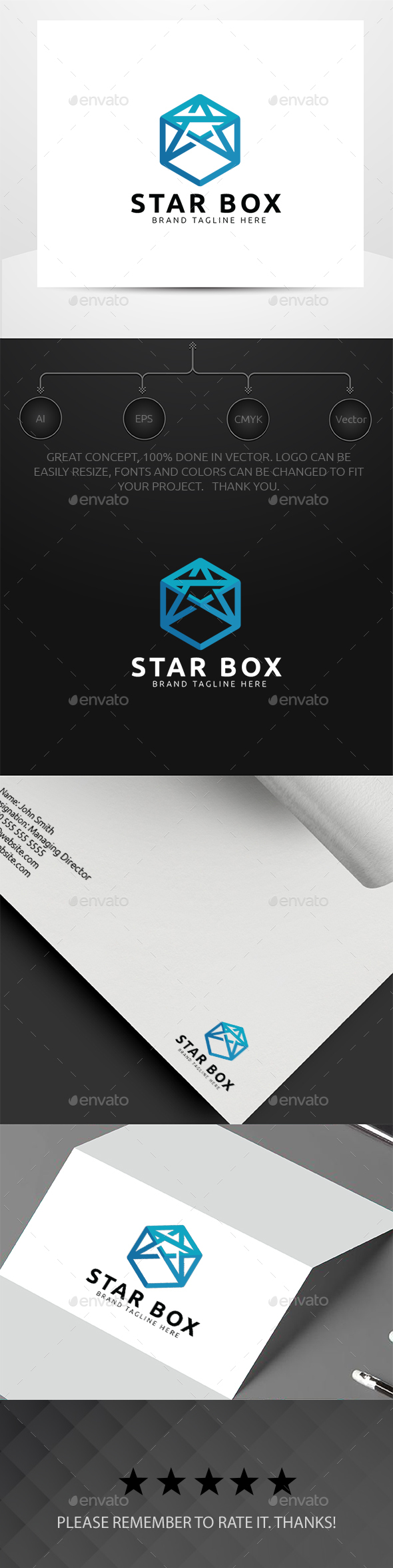 Star Box - Symbols Logo Templates