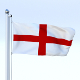 Animated England Flag - 3DOcean Item for Sale