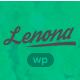 Lenona IT Solutions Minimal WordPress theme