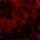 Plexus Network Lines Background Red