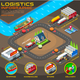 Export Trade Logistics Infographic Vector Icons - GraphicRiver Item for Sale