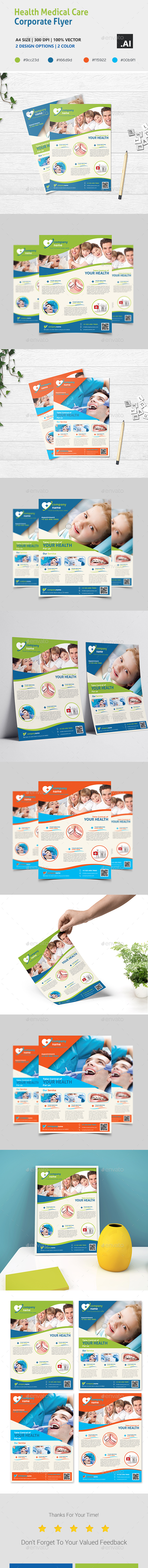 Health Medical Care - Corporate Flyer - Corporate Flyers
