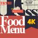 Food Menu 4K