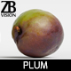 Plum 001 - 3DOcean Item for Sale