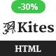 Kites - Minimal HTML Portfolio Template