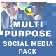 Multipurpose Social Media Pack - GraphicRiver Item for Sale