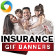 Insurance Animated GIF Banners - GraphicRiver Item for Sale