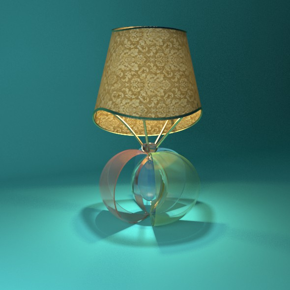Lampshade Apply - 3DOcean Item for Sale