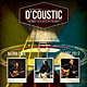 Acoustic_Concert Flyer / Poster