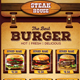 Burger/Restaurant Flyer (A5) - GraphicRiver Item for Sale