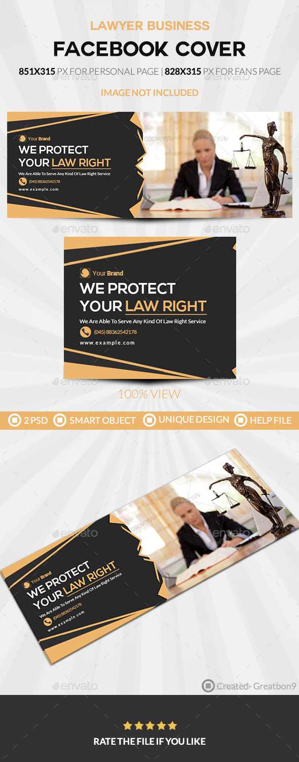 Lawyer Business Facebook Cover - Facebook Timeline Covers Social Media