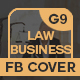Lawyer Business Facebook Cover - GraphicRiver Item for Sale
