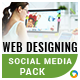 Webdesign Social Media Package Templates
