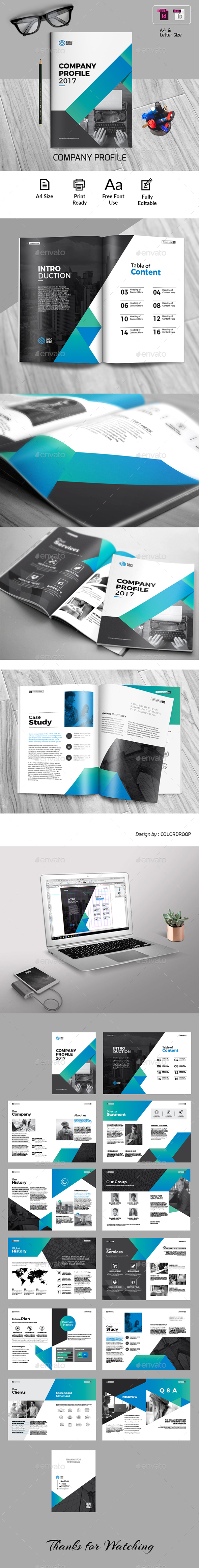 Company Profile - Corporate Brochures