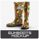 Gumboots Mock-Up - GraphicRiver Item for Sale